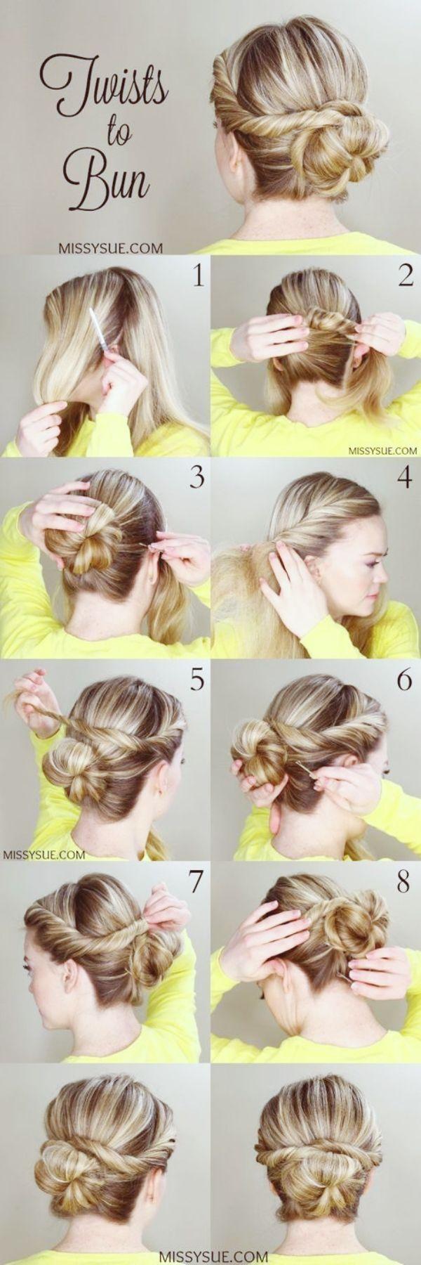 45 Kinderleicht Frisuren Tutorials Fur Das Arbeiten Von Moms Neue Besten Frisur Haartutorial Mutter Frisuren Haar Styling