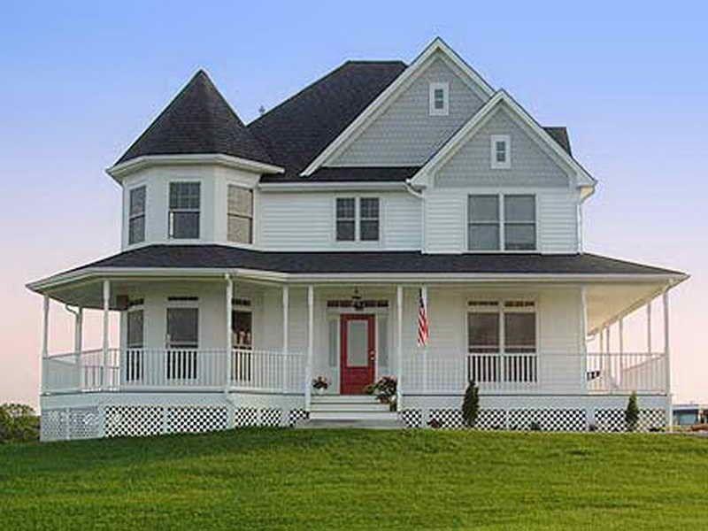 Farmhouse floor plans with wrap around porch ferodoor