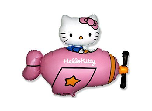 10 x HELLO KITTY PLANE Fuschia 30 X 36 77cm X 92cm -- Read more  at the image link.Note:It is affiliate link to Amazon.