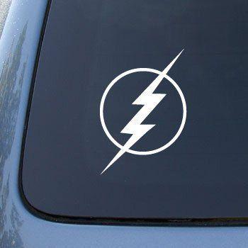 The Flash Lightning Bolt Car Truck Notebook Vinyl Decal