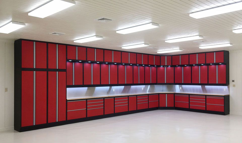 Photo of GL Custom Steel Cabinets | Garage Cabinet System