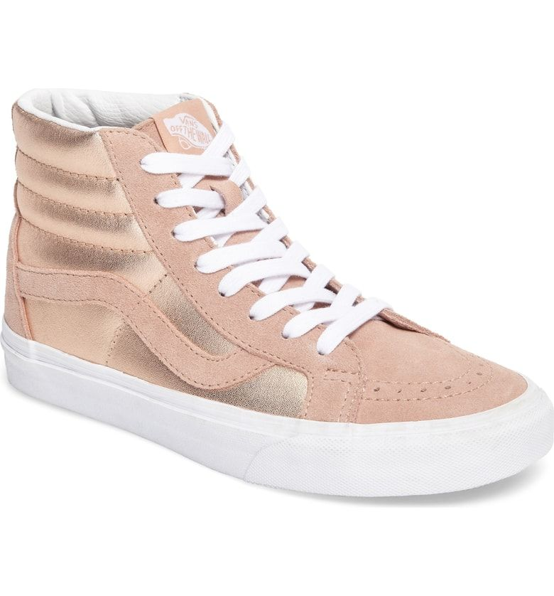 8a7e71575815 Sk8-Hi Reissue  Sneaker, Main, color, Mahogany Rose  True White ...