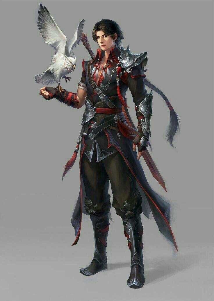 D D Character Design : Human ranger pathfinder pfrpg dnd d fantasy