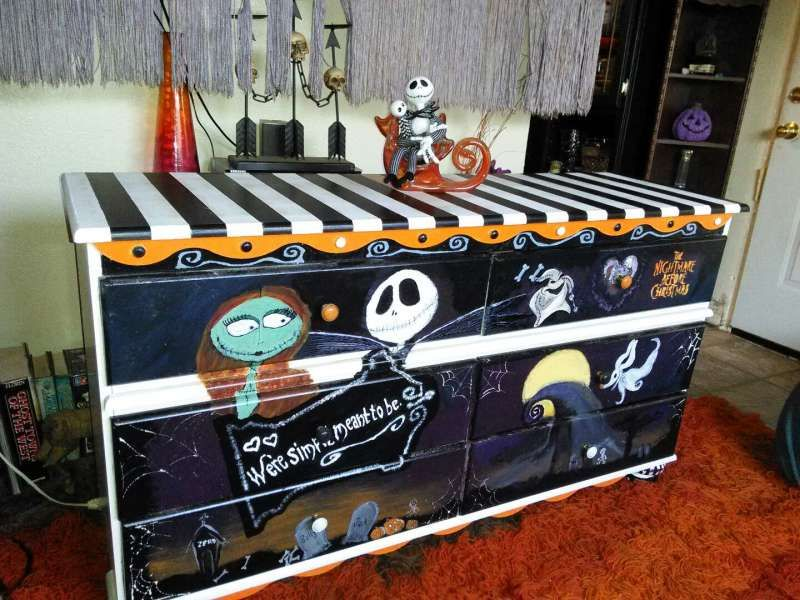 Nightmare Before Christmas Furniture Home Decor