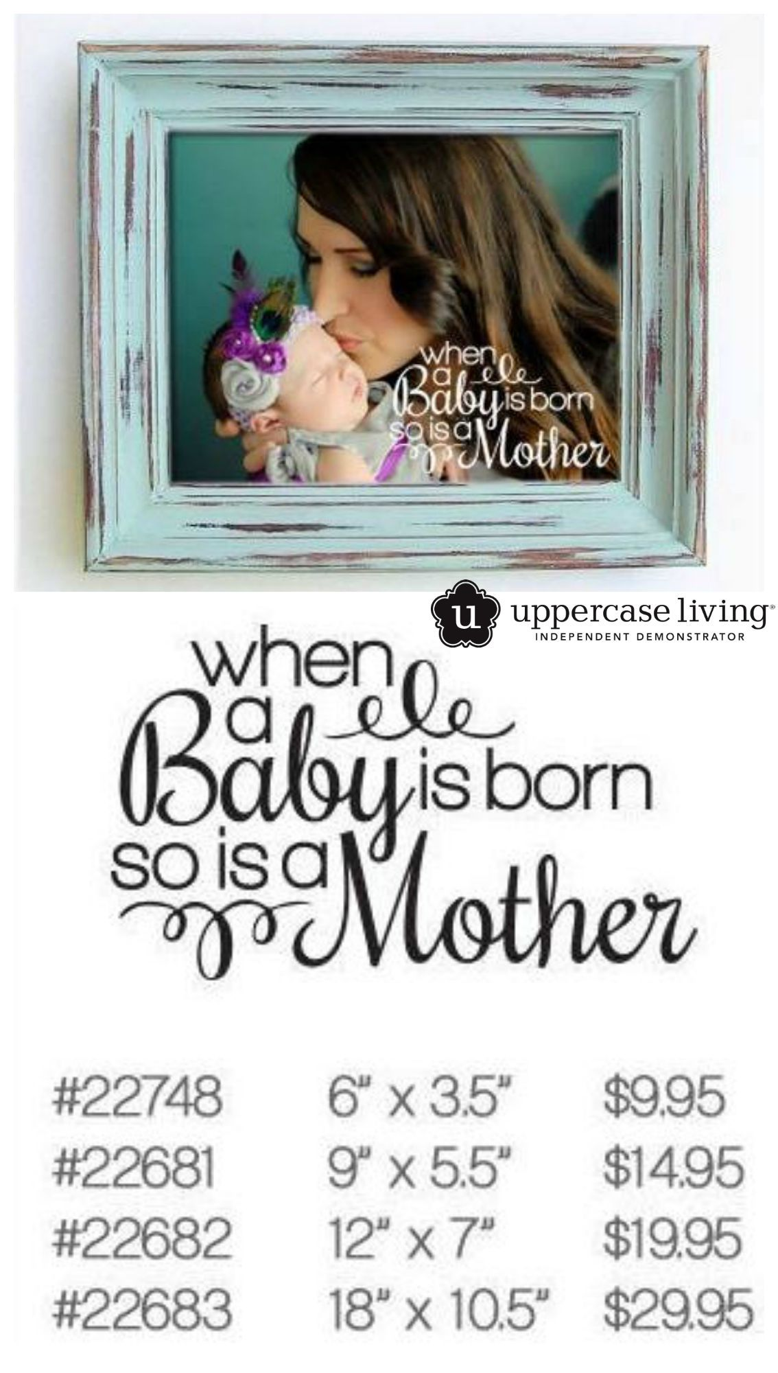 This new design is perfect for the new mom available in a variety