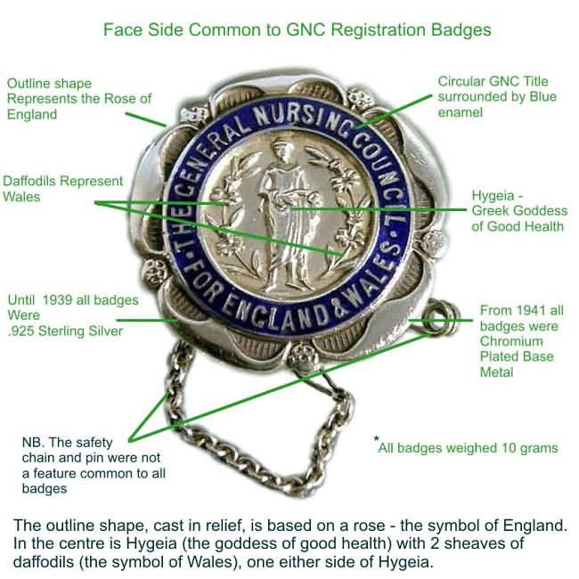 SRN Badge (State Registered Nurse From Great Britain