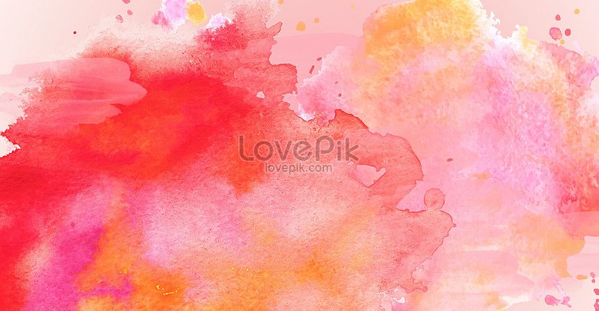 Colorful Watercolor Splash Ink Poster Background Watercolor
