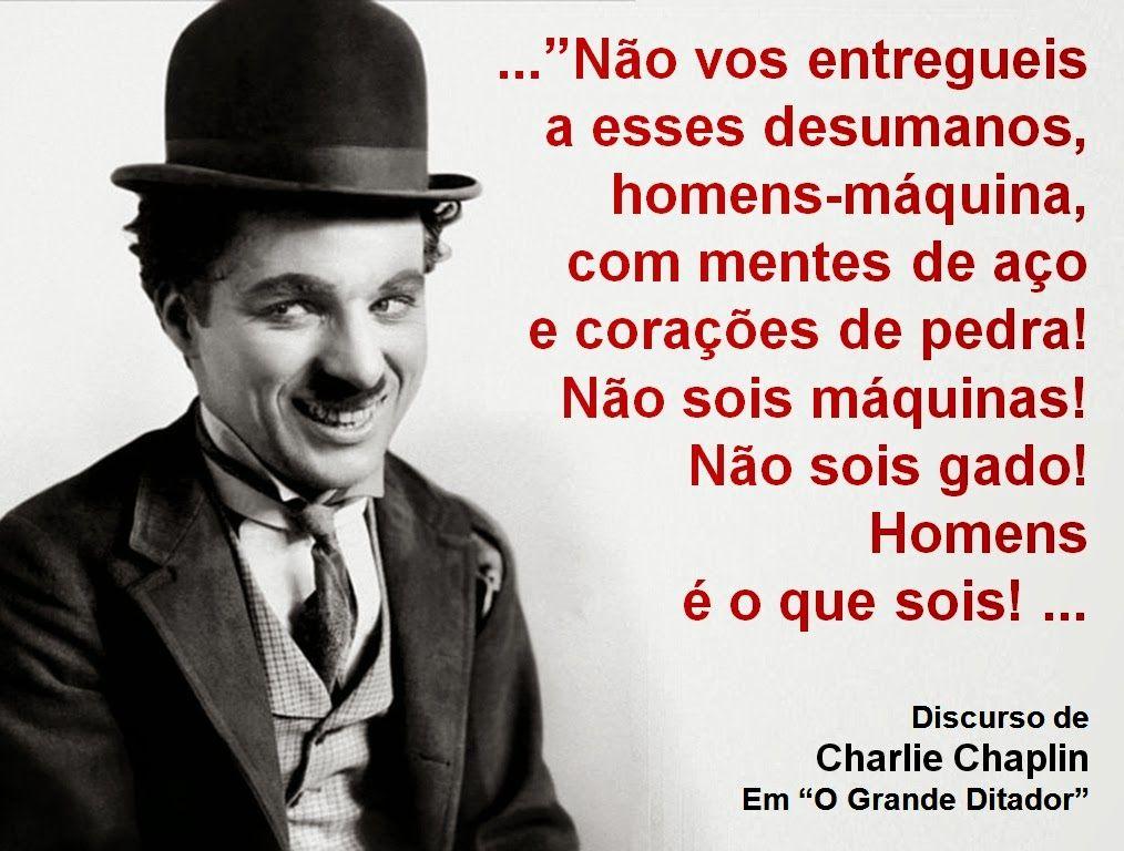 Charles Chaplin Frases A Vida é Uma Peça De Teatro: Http://engenhafrank.blogspot.com.br: DESPERTAR