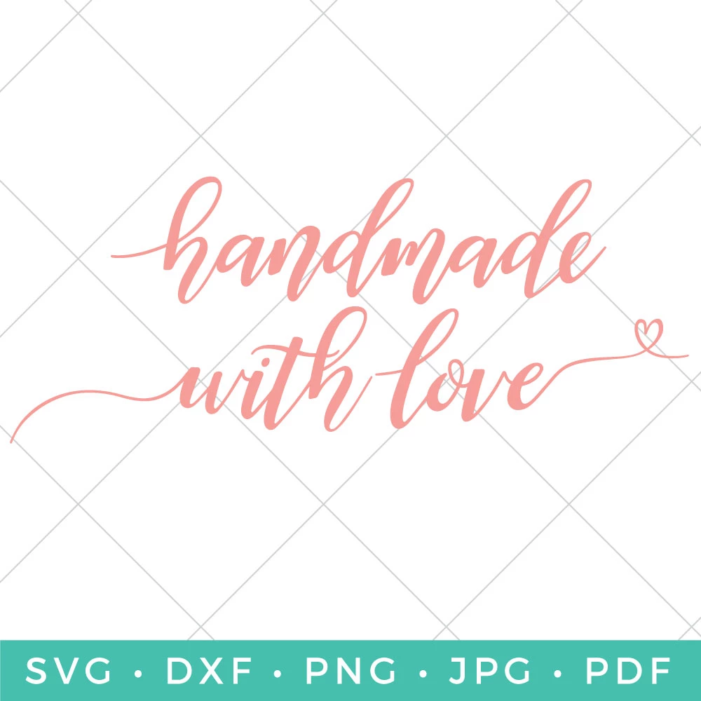 Download Handmade with Love   Handmade, Love, Hand lettering