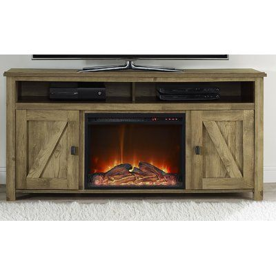 Mistana Whittier Tv Stand For Tvs Up To 78 With Electric Fireplace Included Fireplace Tv Stand Electric Fireplace Tv Stand Wood Burning Fireplace Inserts