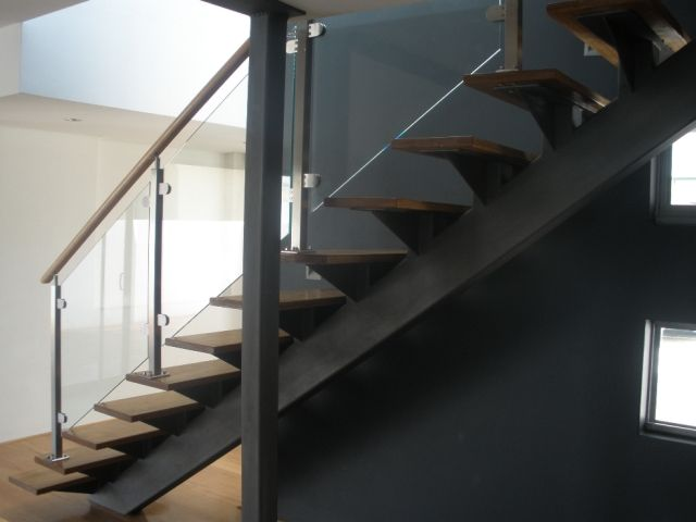 Prefabricated Steel Timber Staircases Stallion Stainless