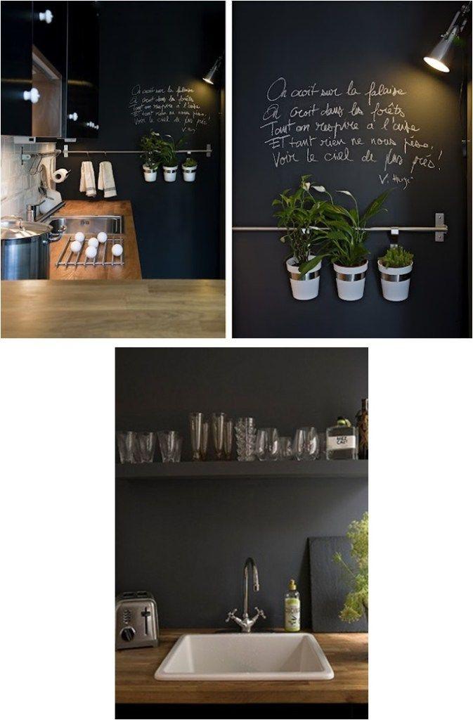 cr dence ardoise jardin en 2019 cocinas pizarra et hogar. Black Bedroom Furniture Sets. Home Design Ideas