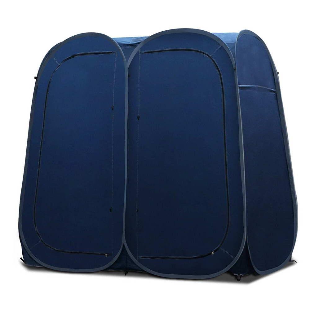 Weisshorn Pop Up Double Shower Toilet Tent Change Room