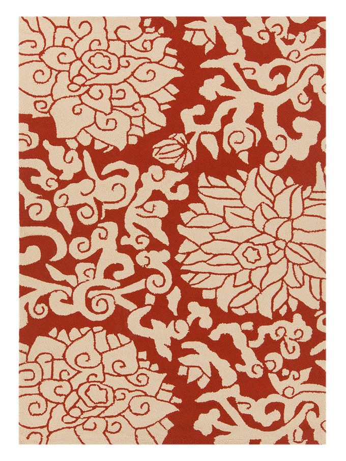 Thomaspaul Rectangle Hand Tufted Indoor Outdoor Rug 5 X 7 6