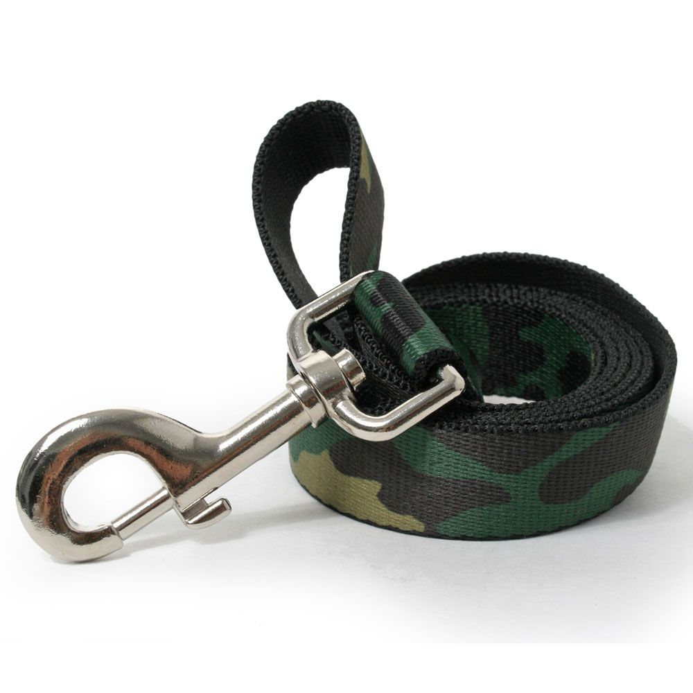 Olive Camo Dog Leash Camo dog beds, Designer dog collars