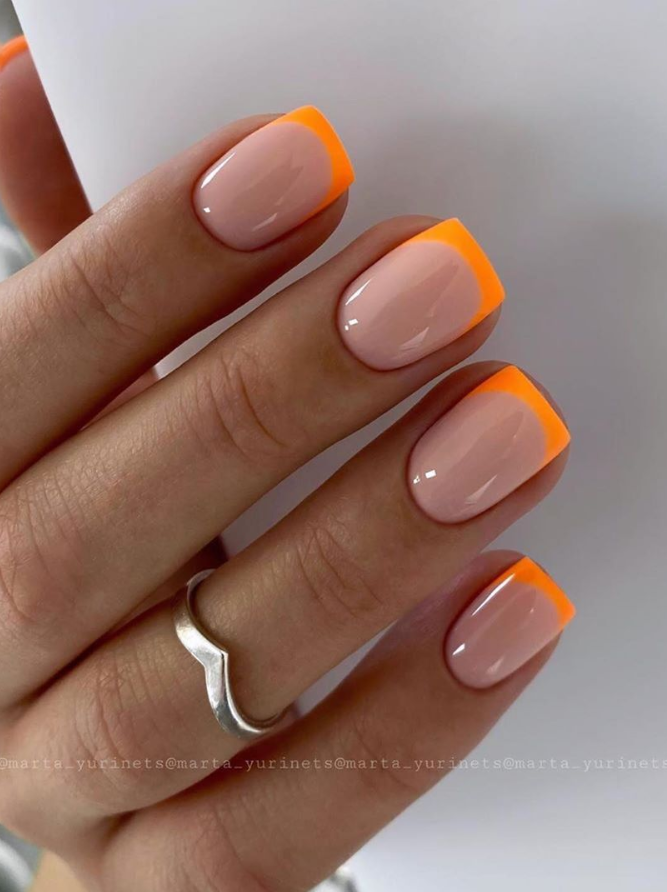 120 Pretty Natural Short Square Nails Design For Summer Nails Latest Fashion Trends For Woman In 2020 Pretty Nail Art Designs Summer Nails Colors Designs Nail Art Designs Summer
