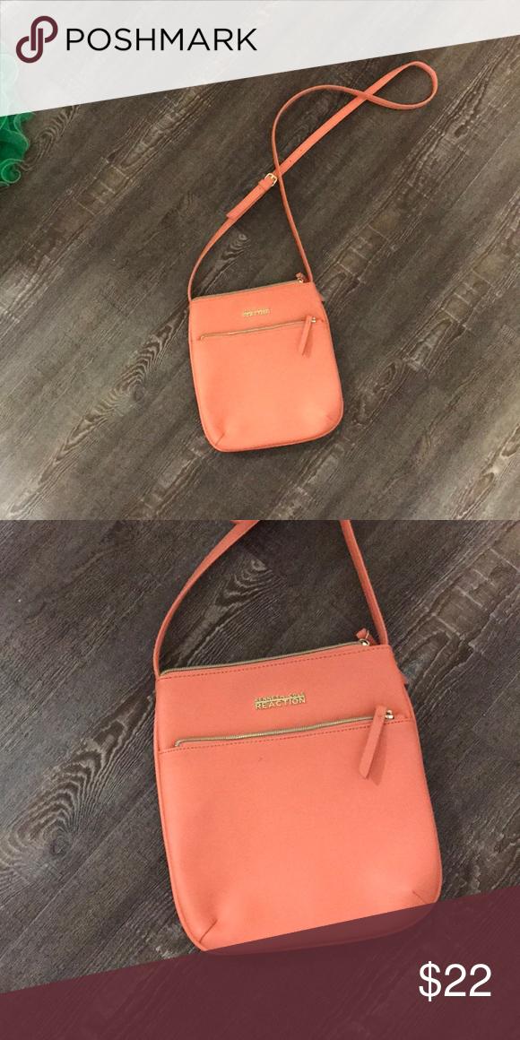 102b3f70cbd Purse Satchel purse Peachy pink coral color Kenneth Cole Reaction Bags  Satchels  coralcolorpurse