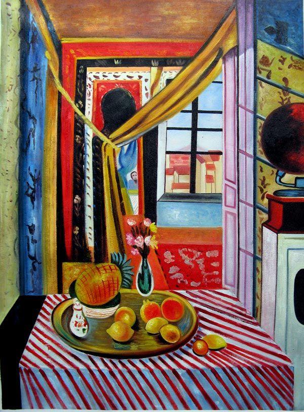 Peinture  LHuile Repro Henri Matisse Intrieur Avec Phonographe