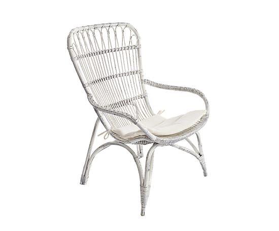 """Krzesło """"Rina White"""", 79 x 68 x 100 cm Outdoor chairs"""