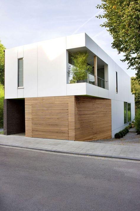 Van Donker Naar Licht Small House Maison Architecte