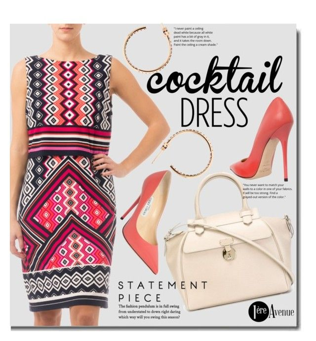 """Cocktail Dress"" by premiereavenue-boutique ❤ liked on Polyvore featuring Joseph Ribkoff, Giorgio Armani, Jimmy Choo, Sydney Evan, country, classy, cocktaildress, premiereavenue, premiereavenueboutique and JosephRibkoff"