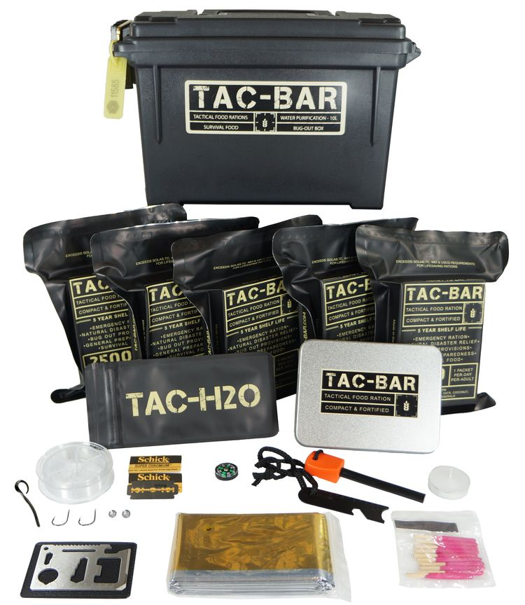 Tac Bar Is A Ready To Eat Tactical Food Ration Compact And