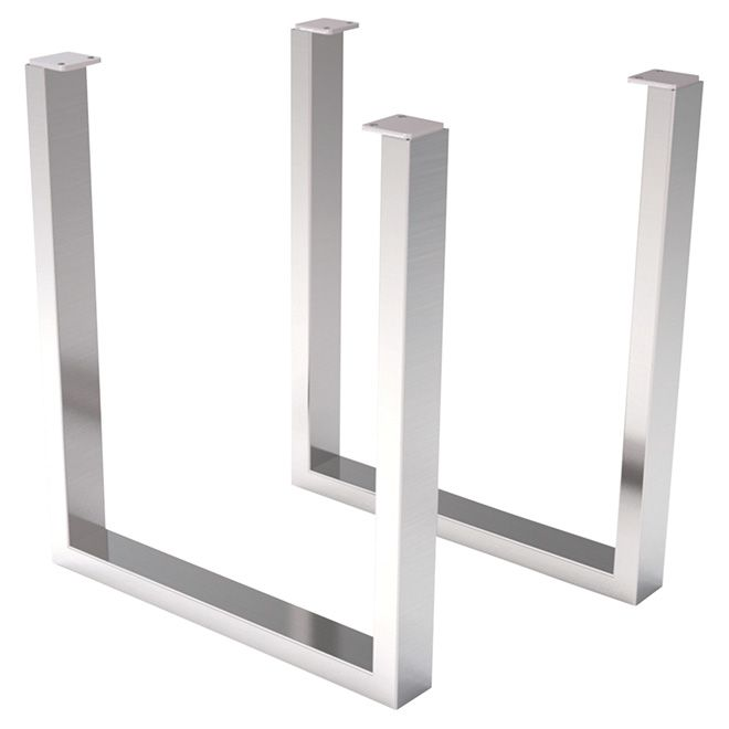 Set Of 2 Pairs Of Table Legs Stainless Steel Article 93125005 Item 051148992 Model I Tl7000 Format Stainless Steel Table Legs Steel Table Legs Table Legs