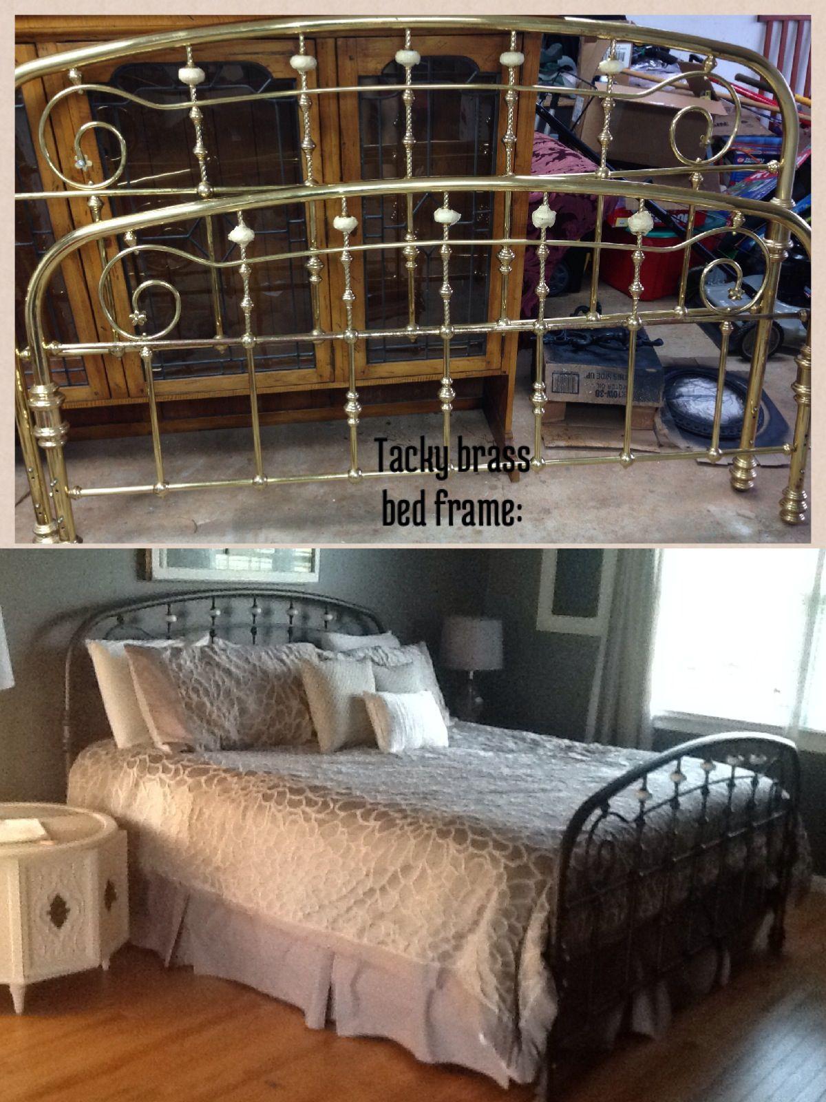 Thrift store kingsize bed frame King size bed frame