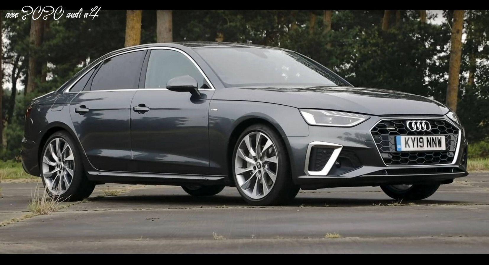 New 2020 Audi A4 In 2020 Audi A4 Audi Audi Sedan