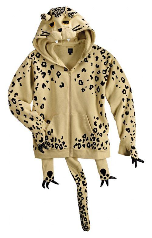 adidas jeremy scott leopard hoodie