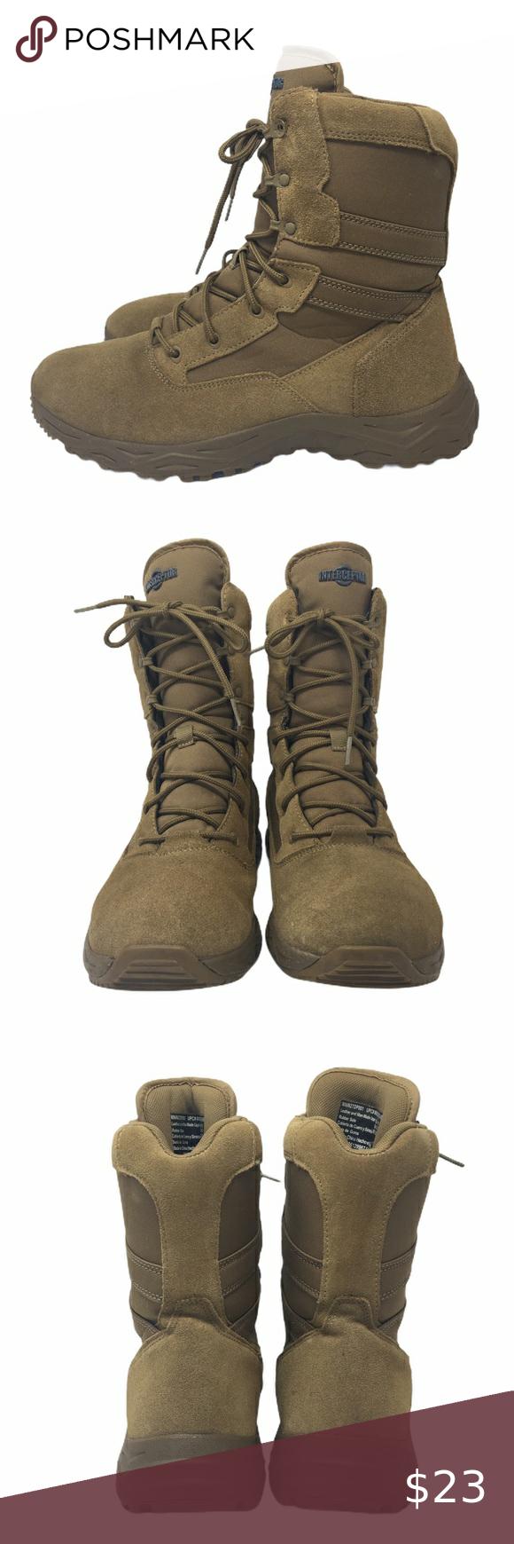 Men S Interceptor Coyote Brown Tall Boots Sz 10 0 In 2020 Boots Tall Brown Boots Tall Boots
