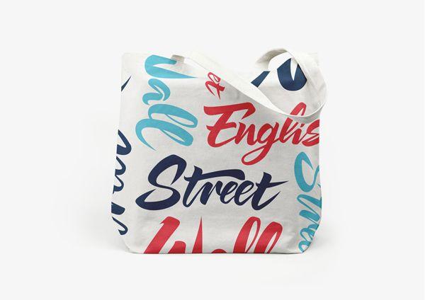 wall street english rebranding by luca fontana via on wall street english id=94906