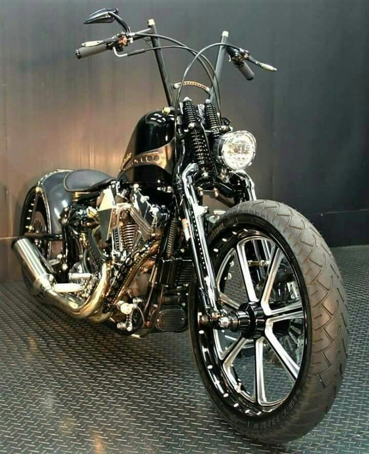Chopper-Bobber Bike Wallpaper