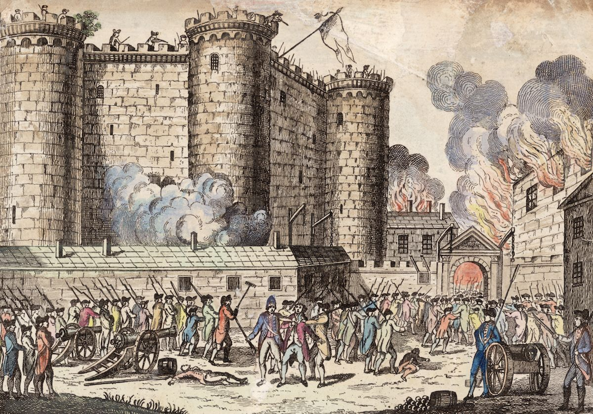 What Actually Happened On The Original Bastille Day Bastille Day History French History Storming The Bastille