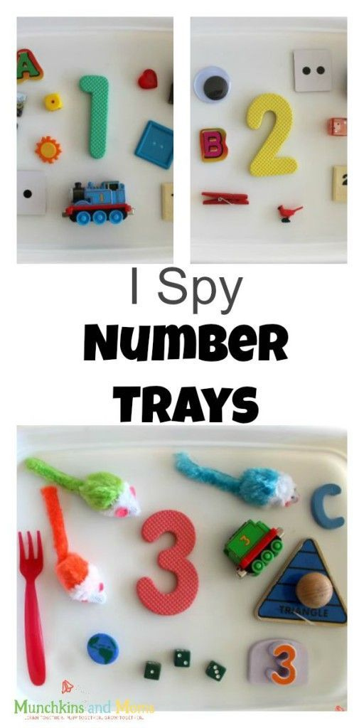I Spy Numbers Activity (0-5 | Early math, Math activities and Spy