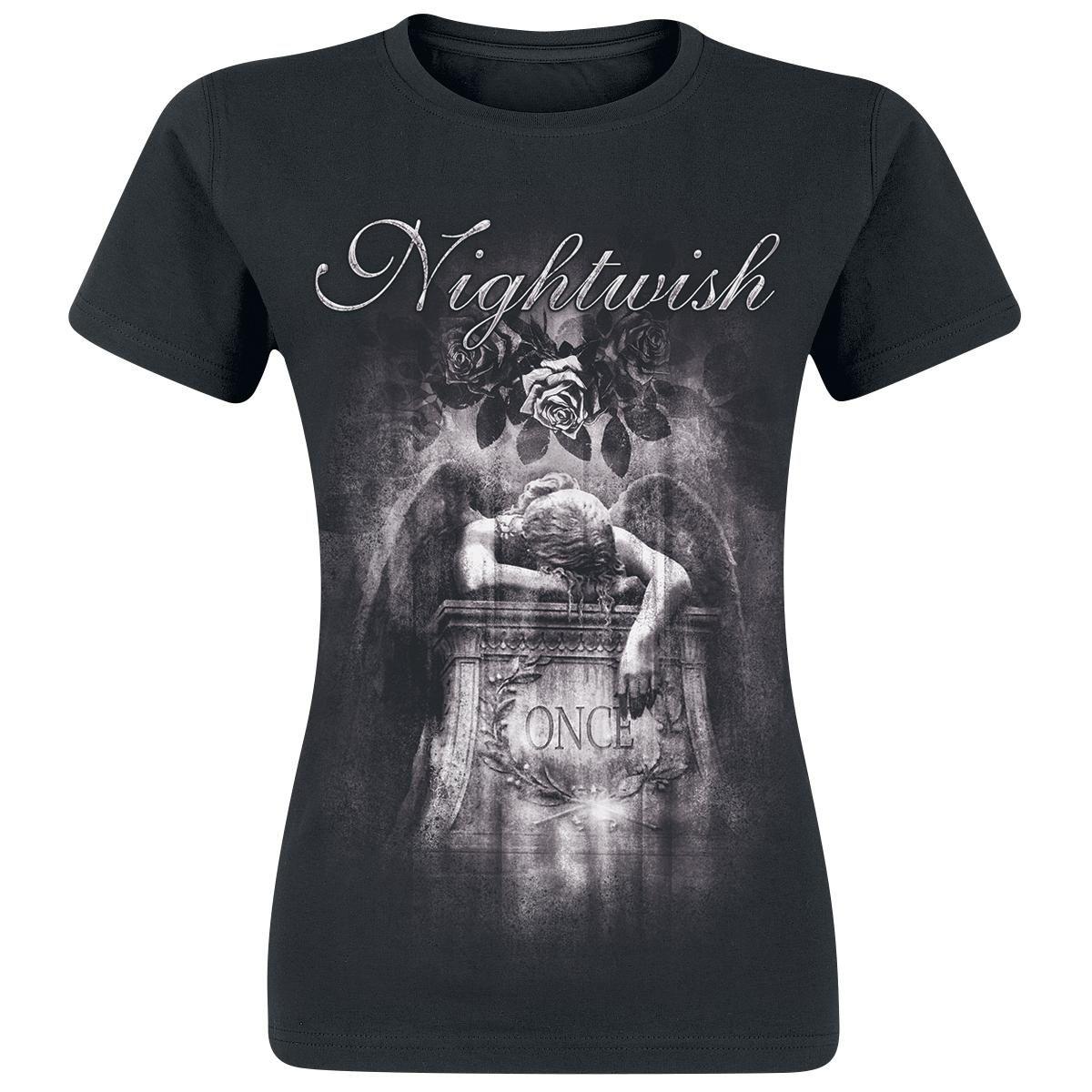 Nightwish Once - 10th Anniversary. Teetimme Once-albumin vuosijuhlan kunniaksi pari uutta paitamallia tämän 10 vuoden takaisen klassikkoalbumin hengessä!