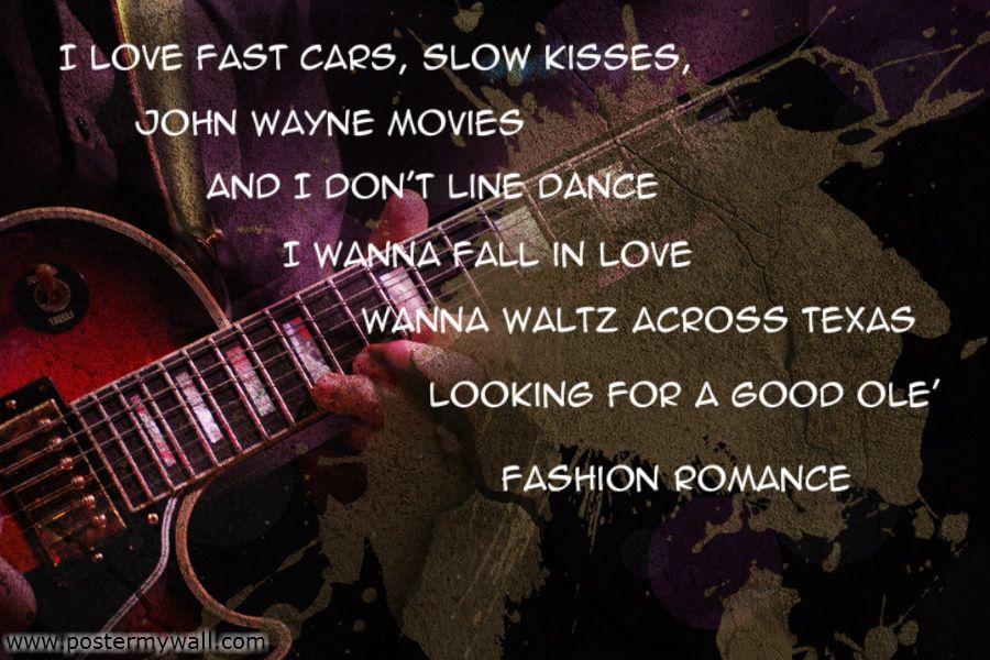 Aaron Watson- Fast Cars Slow Kisses
