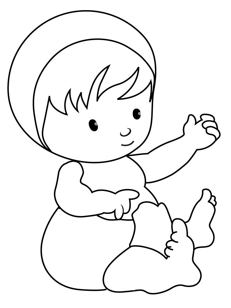 Cute Baby Coloring Pages Baby Coloring Pages Monster Coloring Pages Mickey Coloring Pages