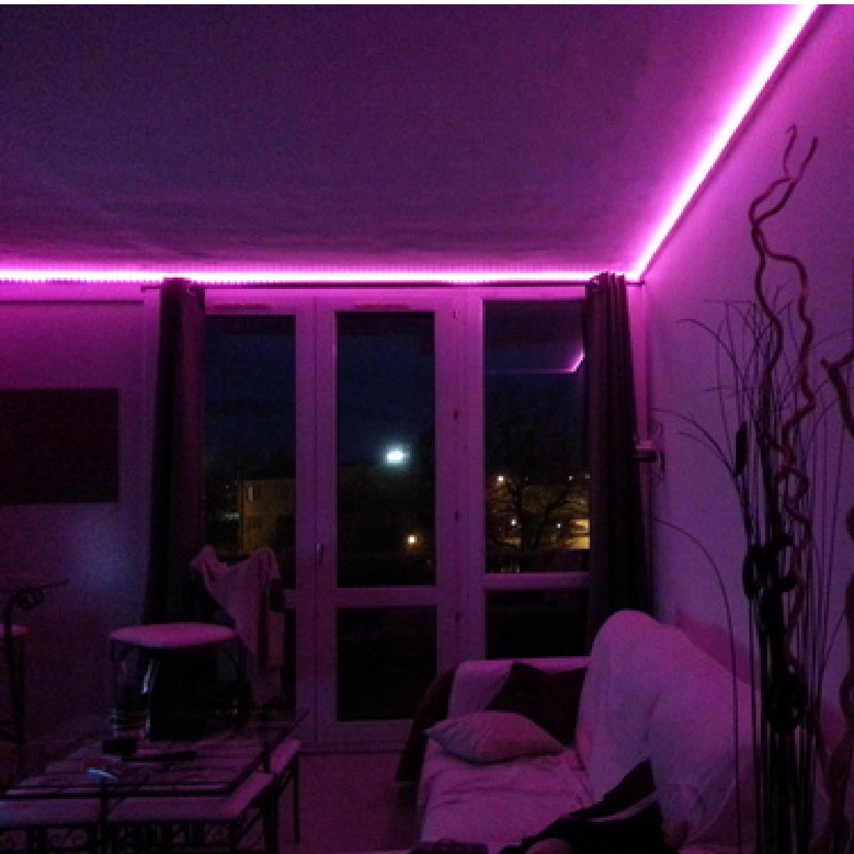 Ruban lumineux à LED, changer la déco de votre maison  Lumieres