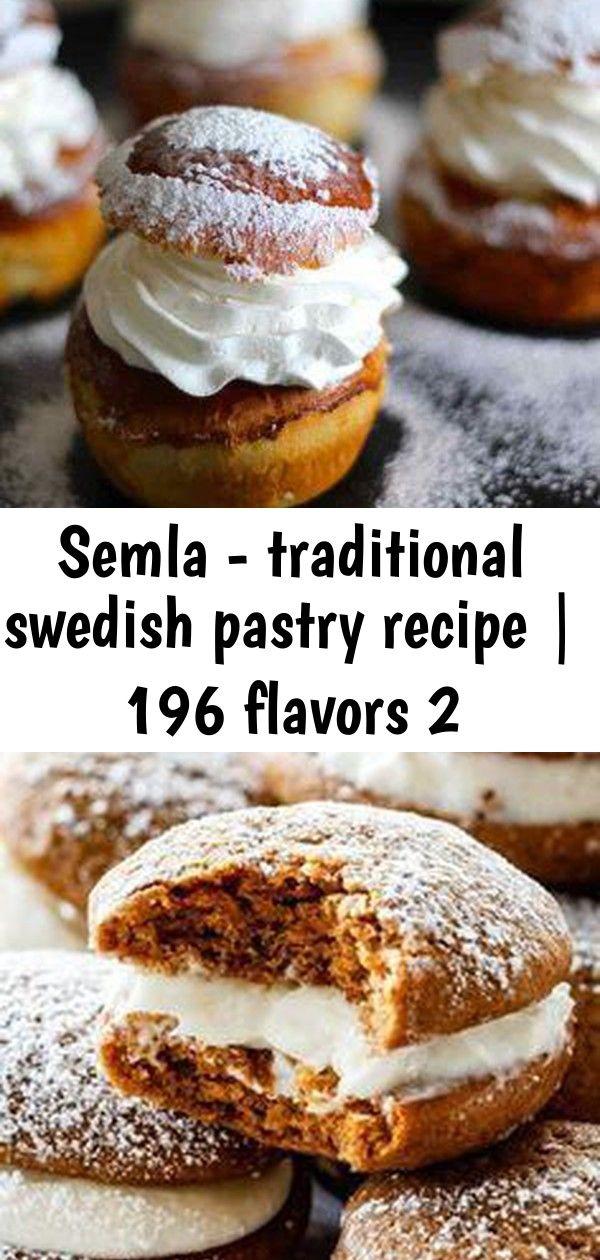 Semla - traditional swedish pastry recipe | 196 flavors 2 #cardamombuns
