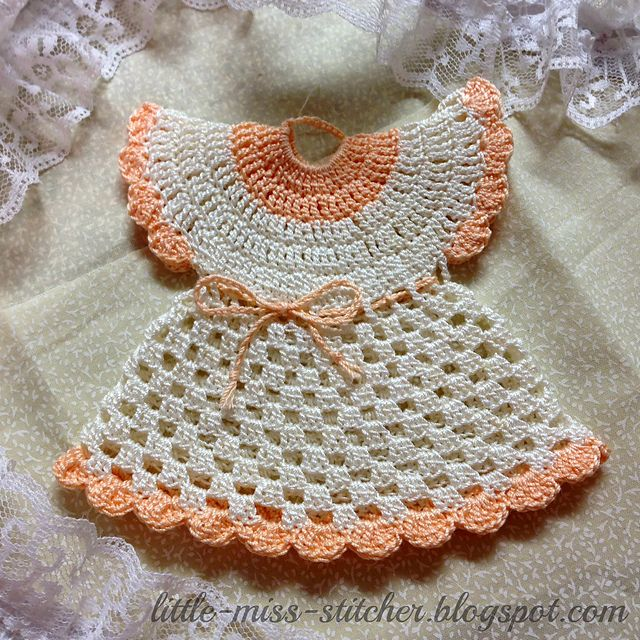 Ravelry: Vintage Crochet Dress Potholder pattern by Little Miss ...