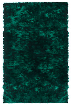 The Deep Emerald Green Of This Rug Is So Luxurious And That S Color I Covet