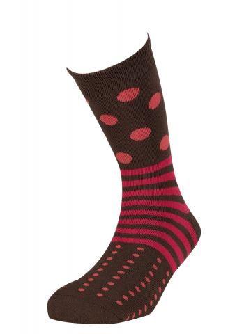 Ysabel Mora Ισοθερμικές Γυναικείες Κάλτσες Καφέ Κόκκινο One Size ... 3b48a2a61e2