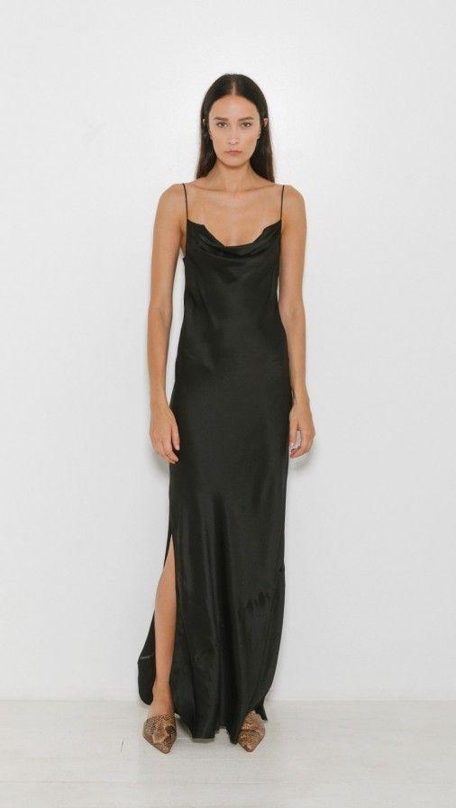 cd7b47496488 Nili Lotan Alexa Gown in Black | The Dreslyn | NEW ARRIVALS | New ...