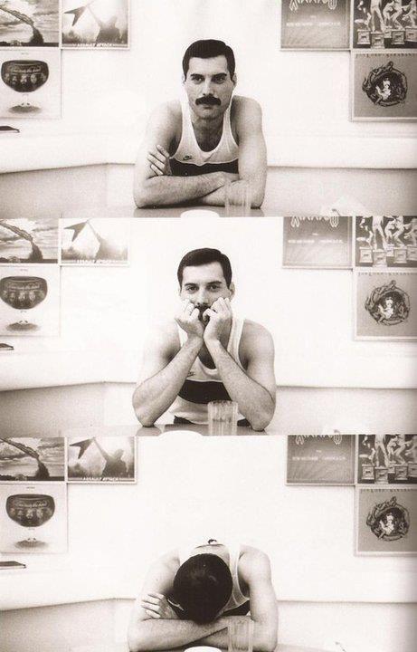 Freddie Mercury, Queen.