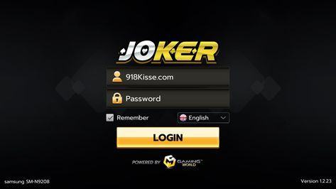 Login joker123 slot