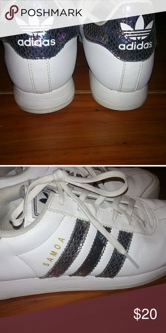 1cf4434a32aee5 Adidas Samoa - snakeskin pattern Girls size 7 fits like a women s 7 1 2  adidas Shoes Sneakers