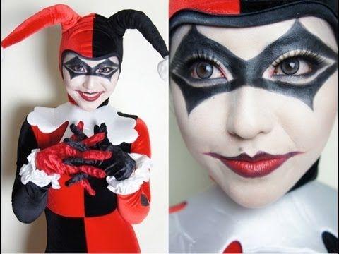 Harley Quinn Makeup Tutorial, I like the eyes