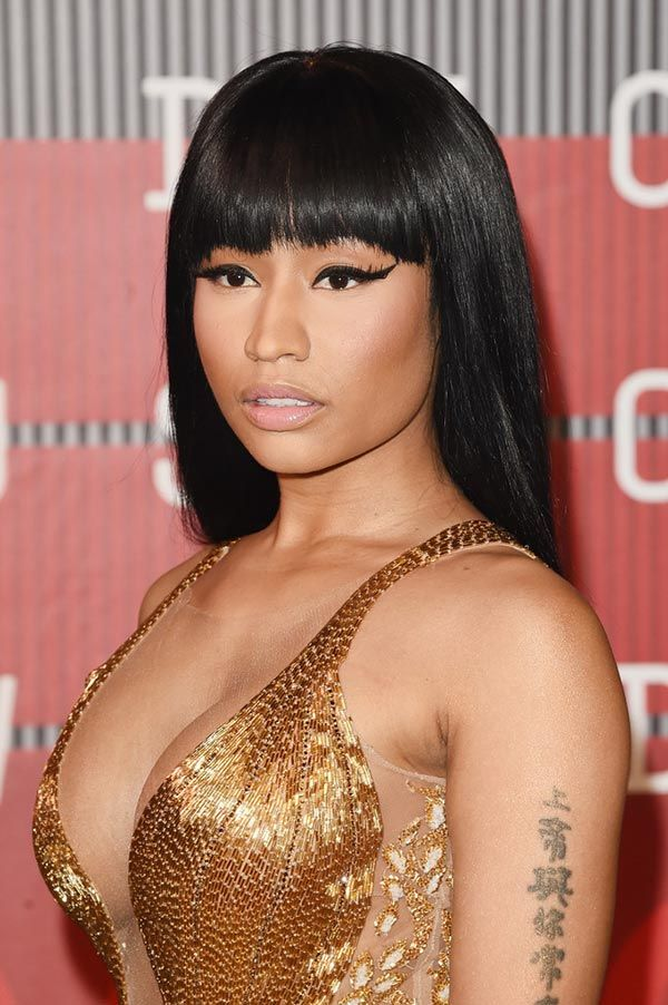 MTV VMAs 2015 Beauty Inspiration Nicki Minaj Hairstyles