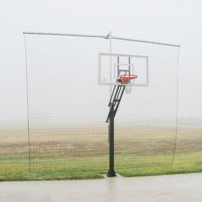 Super Airball Grabber Retention Net Tophoops Backyard Basketball Basketball Court Backyard Diy Basketball Court